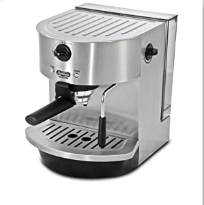 Sunbeam 15 Bar Pump Espresso Maker-Urban, Stainless Steel