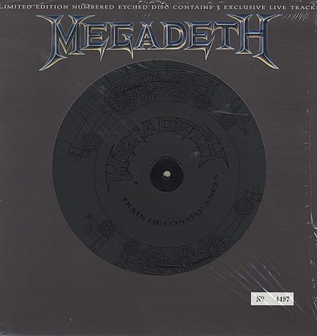 Train Of Consequences - Etched by Megadeth