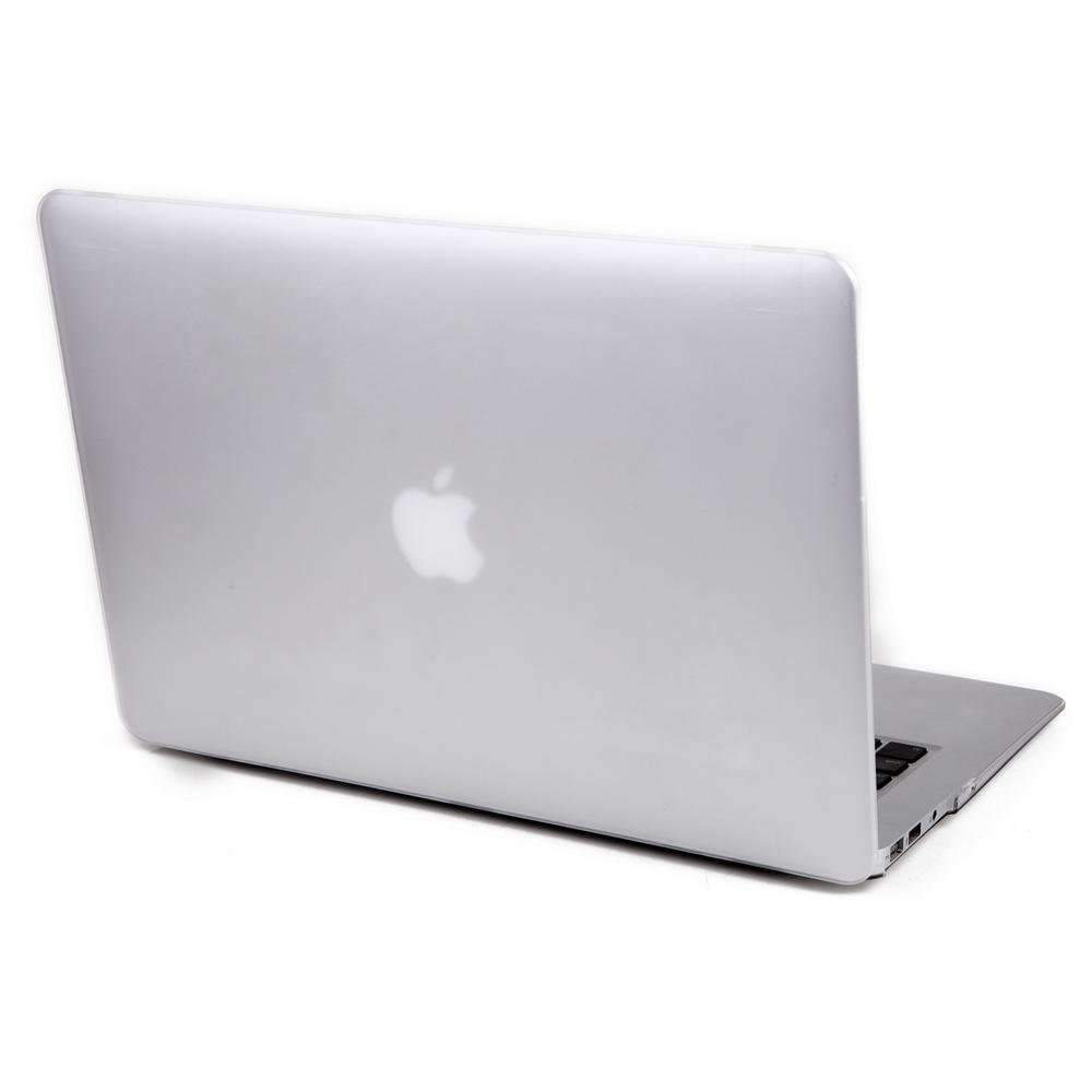 TOS Transparent White Crystal Finish Apple Macbook Pro 13.3 Hard Case Shell Cover