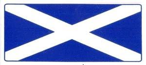 Scotland Flag Car Sticker (from Sticker-Mad.com)