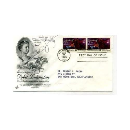 Leslie Bega The Sopranos Sexy Signed Autograph FDC - Memorabilia at