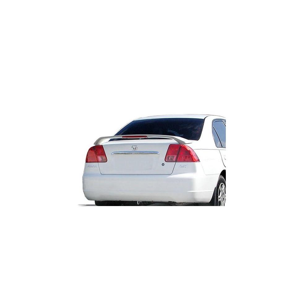 03-05 For Honda Accord 4D LED Brake 4D Trunk Spoiler Painted B96P ETERNAL BLUE