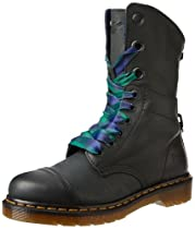 Hot Sale Dr. Martens Women's Aimilie Boot,Black Darkened Mirage,5 UK/7 M US