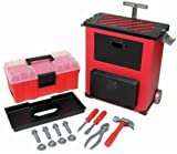 Lanard Workman Deluxe Rolling Tool Box : Color may vary