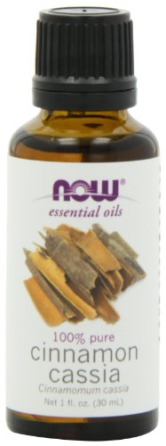 NOW Foods Cinnamon Cassia Oil, 1 ounce (Pack of 2)