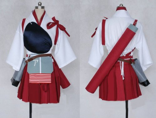 [ウェブエッセンス] コスプレ衣装 艦隊これくしょん ~艦これ~  赤城風  コスプレ コスチューム オリジナル ブレスレット 付き
