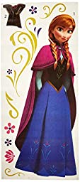 RoomMates RMK2737GM Frozen\'s Anna with Cape Giant Peel and Stick Wall Decals