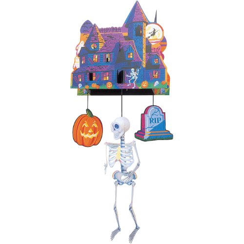 "24"" Spook Central 3D Hanging Mobile"