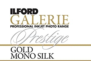 Ilford 2002415 24 X 50 Inches GALERIE Prestige Gold Mono Silk Roll (Black)