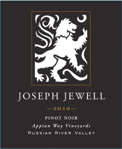 2010 Joseph Jewell Pinot Noir Russian River Valley Appian Way 750 Ml