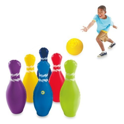 Discovery Kids Jumbo Inflatable 7 Piece Bowling Set By Discovery Kids front-576938