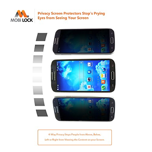 Samsung Galaxy S4 Privacy Screen Protector (Pack of 1)