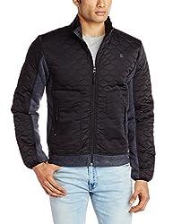 Lee Men's Synthetic Sweatshirt (8907222298296_LESS1738_Medium_Black)