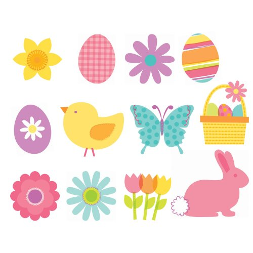 Easter Value Pack Cutouts Party Accessory