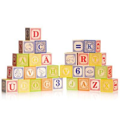 Imagen de Uncle Goose alemanes Alphabet Blocks madera - Hecho en los EE.UU.