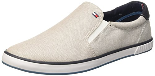 Tommy Hilfiger H2285ARLOW 2E Scarpe Low-Top, Uomo, Grigio (Grau (STEEL GREY 039)), 42