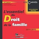 L'essentiel du droit de la famille 2014-2015