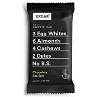 12 Pack RXBAR Whole Food Protein Bar (Chocolate Sea Salt)