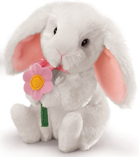 Hoppity Bunny Small- WHITE - 1