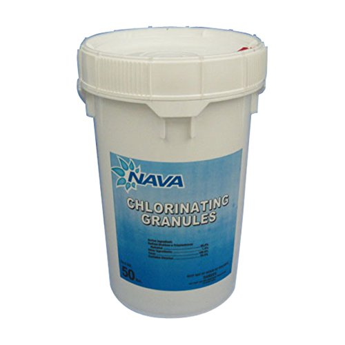 Nava Chlorinating Di-Chlor Granules - 50 lb. Bucket (Bucket Of Chlorine compare prices)