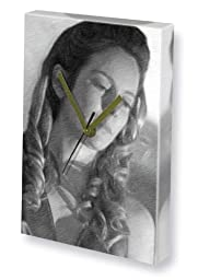 ALEXANDRA MOEN - Canvas Clock (LARGE A3 - Signed by the Artist) #js001