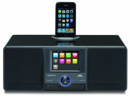 ROBERTS ColourSTREAM DAB/FM/WiFi Internet Radio with Dock for iPod and Colour Touch Screen