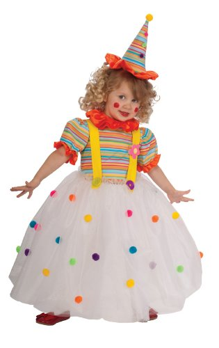 Candy Clown Costume, Toddler