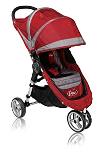 Baby Jogger 2010 City Mini Single Stroller, Crimson/Gray