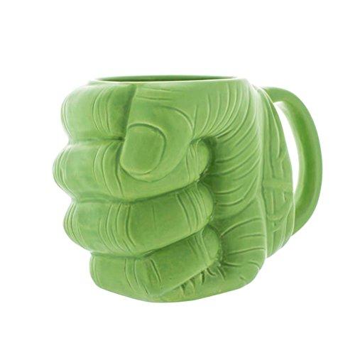 Ufficiale Marvel Avengers Hulk Pugno a forma 3D in ceramica per caffè / tazza di tè