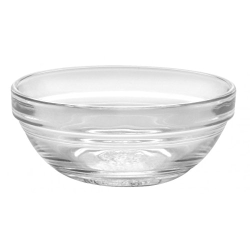 Duralex - Lys Stackable Clear Bowl 7.5 cm (3 in.) Set of 4 (Mini Sauce Dish compare prices)