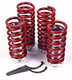 ford probe 1989-1992 Adjustable Coilover Spring (4 Coils, Hardware)