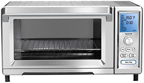 Cuisinart TOB-260 Chef's Convection Toaster Oven (Toaster Oven Broiler Oster compare prices)