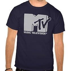 MTV: Grey Logo Tee - Guys
