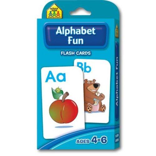 ALPHABET FLASH CARDS by SCHOOL ZONE PUBLISHING - 1