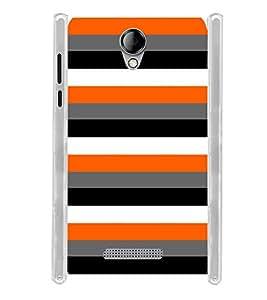 Lines Color Pattern Soft Silicon Rubberized Back Case Cover for Karbonn Titanium Mach Five :: Karbonn Machfive