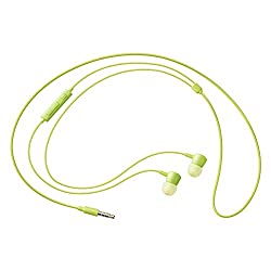 Samsung HS130 with mic In-the-ear Headset -Green with 6 months manufacturer warranty(100% Original)