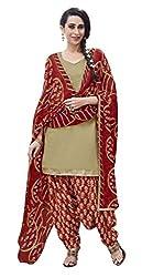 Fashion Storey Fancy MultiColor Cotton Dress Material