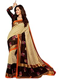 Indian Fashionista Women's Bhagalpuri Silk Saree (RMAKSHAF21_Multicolor)