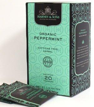 Harney & Sons Fine Teas Organic Peppermint - 20 Tea bags (Gourmet,Harney & Sons,Gourmet Food,Beverages)