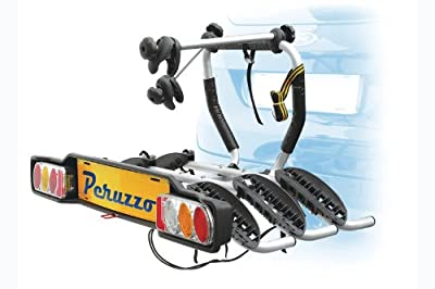 Peruzzo Siena 3 Bicycle Rack Reclining for Trailer Coupling