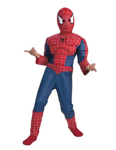 Spiderman Muscle 7 To 8 Kids Boys Costume