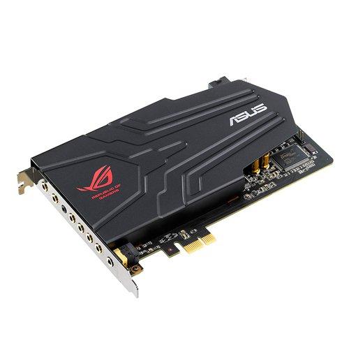 Asus Xonar Phoebus ROG Solo Scheda Audio PCI-Express per Gaming, 118dB SNR, 7.1 Canali, Nero/Antracite