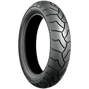 Bridgestone Battle Wing BW501G Tire - Front - 110/80R-19 , Position: Front, Tire Size: 110/80-19, Rim Size: 19, Load Rating: 59, Speed Rating: V, Tire Construction: Radial, Tire Type: Dual Sport, Tire Application: All-Terrain 132983