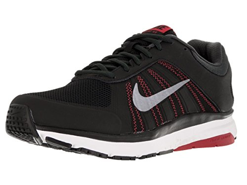 Nike Men's Dart 12 (4E) Blk/Mtlc Cl/Gry/Unvrsty Rd/Ant Running Shoe 9 4E Men US (Mens Extra Wide Running Shoes compare prices)