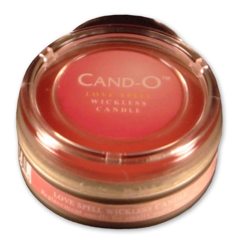 Candle Breeze Small Cand-o Love Spell Scented Candle