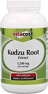 Vitacost Kudzu Root Extract -- 1200 mg per serving - 180 Capsules