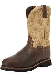 Justin Original Work Boots Men's Stampede Work Boot