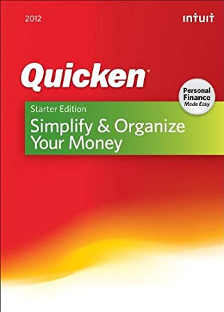 Quicken Starter Edition 2012 [Download] [OLD VERSION]