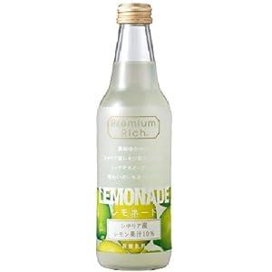 【クリックで詳細表示】川崎飲料 PremiumRichレモネード 340ml×24本: 食品・飲料・お酒 通販