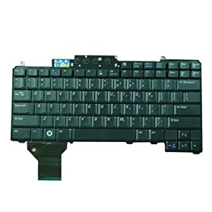 Replacement for Dell Latitude D531 Laptop Keyboard Black US Layout